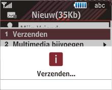 Samsung B3210 Corby TXT - E-mail - Hoe te versturen - Stap 14