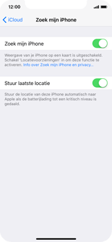 Apple iPhone X - Beveiliging en privacy - Zoek mijn iPhone activeren - Stap 8