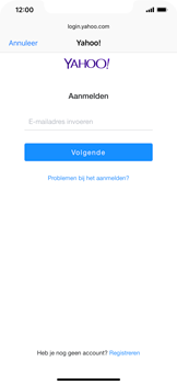 Apple iPhone XR - E-mail - e-mail instellen (yahoo) - Stap 6
