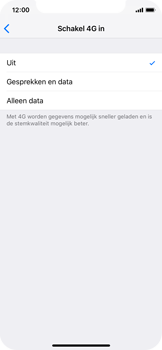 Apple iPhone X - iOS 12 - Bellen - bellen via 4G (VoLTE) - Stap 6