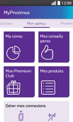 LG L70 - Applications - MyProximus - Étape 14