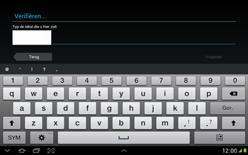 Samsung N8000 Galaxy Note 10-1 - Applicaties - Applicaties downloaden - Stap 13