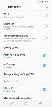 Samsung Galaxy S8 - Funciones básicas - Activar o desactivar el modo avión - Paso 6