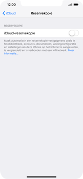 Apple iPhone XS Max - Data - maak een back-up met je account - Stap 10