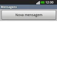 LG E400 - SMS - Como configurar o centro de mensagens -  4