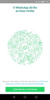 Huawei P Smart - Aplicações - Como configurar o WhatsApp -  5