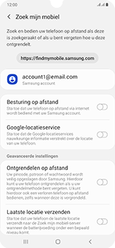 Samsung Galaxy A50 - Toestel - stel Zoek mijn mobiel in - Stap 6