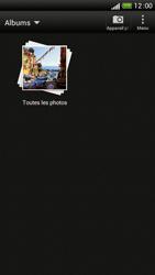 HTC One S - Photos, vidéos, musique - Envoyer une photo via Bluetooth - Étape 4