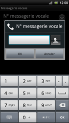 Sony Ericsson Xperia Neo V - Messagerie vocale - configuration manuelle - Étape 8