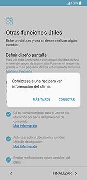 Samsung Galaxy S8 - Primeros pasos - Activar el equipo - Paso 17