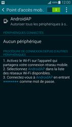 Samsung Galaxy Alpha - Internet et connexion - Partager votre connexion en Wi-Fi - Étape 11