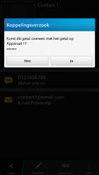 BlackBerry Z30 - Contactgegevens overzetten - delen via Bluetooth - Stap 8