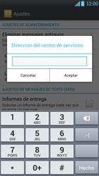 LG Optimus L9 - Mensajería - Configurar el equipo para mensajes de texto - Paso 7