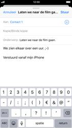 Apple iPhone 8 - iOS 12 - E-mail - e-mail versturen - Stap 7