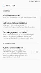 Samsung Galaxy S6 Edge - Android Nougat - Instellingen aanpassen - Fabrieksinstellingen terugzetten - Stap 6