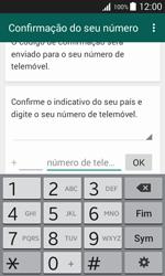 Samsung Galaxy J1 - Aplicações - Como configurar o WhatsApp -  6