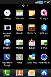 Samsung S5660 Galaxy Gio - Internet - navigation sur Internet - Étape 2