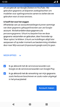Nokia 8-sirocco-ta-1005-android-pie - Applicaties - Account aanmaken - Stap 17