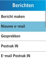 Samsung C3300K - E-mail - E-mails verzenden - Stap 4