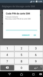 Sony Sony Xperia XA - Sécuriser votre mobile - Personnaliser le code PIN de votre carte SIM - Étape 8