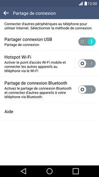LG G4 - Internet et connexion - Utiliser le mode modem par USB - Étape 8