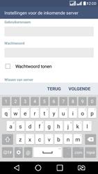 LG K8 - E-mail - e-mail instellen: POP3 - Stap 11