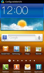 Samsung I9070 Galaxy S Advance - MMS - Automatisch instellen - Stap 3