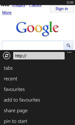 Nokia Lumia 620 - Internet - Internet browsing - Step 10