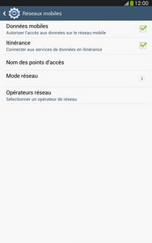 Samsung Galaxy Tab 3 8 4G - Aller plus loin - Désactiver les données à l'étranger - Étape 6