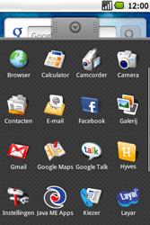 Samsung Galaxy Spica (GT-i5700) - Internet - Handmatig instellen - Stap 3