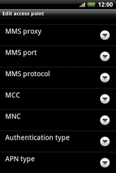 HTC A510e Wildfire S - MMS - Manual configuration - Step 10