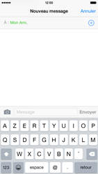 Apple iPhone 6 iOS 8 - Contact, Appels, SMS/MMS - Envoyer un SMS - Étape 7