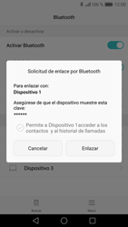 Huawei P9 - Bluetooth - Conectar dispositivos a través de Bluetooth - Paso 7