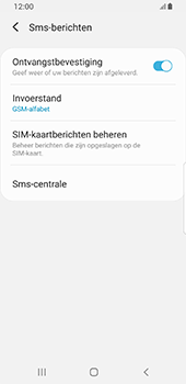 Samsung galaxy-s8-sm-g950f-android-pie - SMS - Handmatig instellen - Stap 10