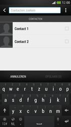HTC One Mini - Contacten en data - Contacten kopiëren van toestel naar SIM - Stap 8