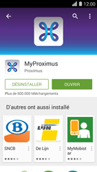 Huawei Ascend Y550 - Applications - MyProximus - Étape 9