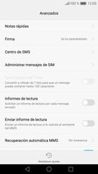 Huawei P9 - Mensajería - Configurar el equipo para mensajes de texto - Paso 9