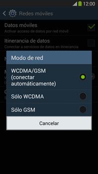 Samsung Galaxy Note 3 - Red - Seleccionar el tipo de red - Paso 7
