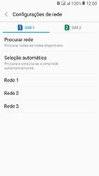 Samsung Galaxy J2 Prime - Rede móvel - Como selecionar o tipo de rede adequada - Etapa 10