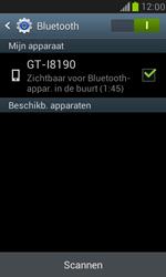 Samsung I8190 Galaxy S III Mini - Bluetooth - Aanzetten - Stap 6