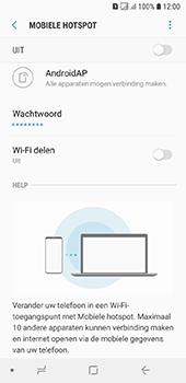 Samsung galaxy-a6-sm-a600fn-ds - WiFi - Mobiele hotspot instellen - Stap 11