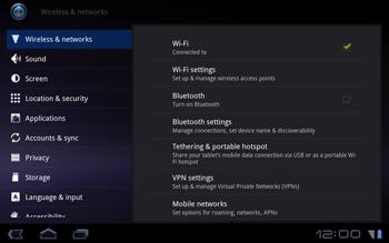 Huawei Mediapad S7-301u - Internet - Enable or disable - Step 5