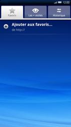 Sony Ericsson Xperia X10 - Internet - navigation sur Internet - Étape 6
