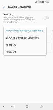 Samsung Galaxy S8 - Android Oreo - Netwerk - Wijzig netwerkmodus - Stap 7
