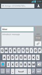 LG Optimus L9 - Mensajería - Escribir y enviar un mensaje multimedia - Paso 12