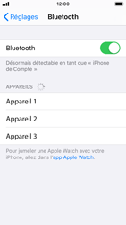 Apple iPhone SE - iOS 13 - Bluetooth - connexion Bluetooth - Étape 7