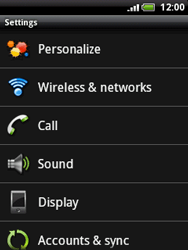 HTC A3333 Wildfire - Network - Usage across the border - Step 4