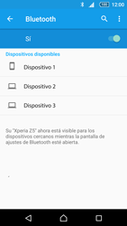 Sony Xperia Z5 - Bluetooth - Conectar dispositivos a través de Bluetooth - Paso 6