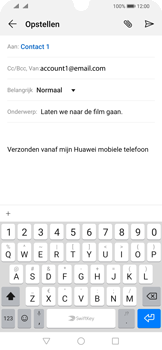Huawei p-smart-2019-dual-sim-model-pot-lx1 - E-mail - Bericht met attachment versturen - Stap 8