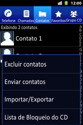 Huawei U8667 - Chamadas - Como bloquear chamadas de um número específico - Etapa 8